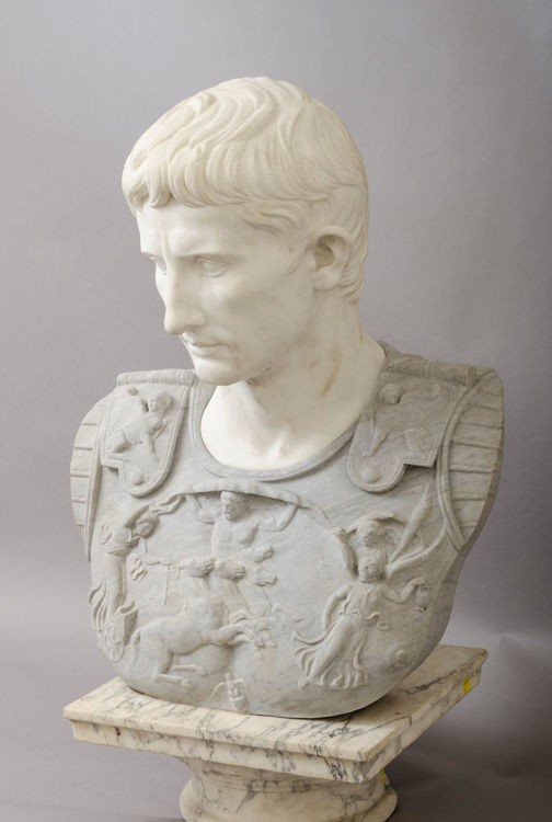 """Picture of After Augustus of the """"Prima Porta"""" Bust"""