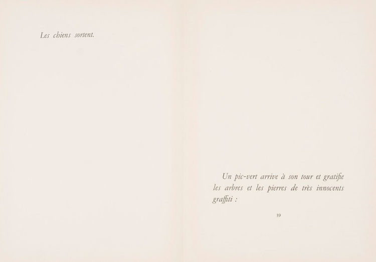 Picture of Jacques Prevert, Les Chiens ont Soif