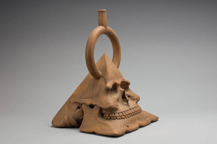 Picture of Pre-Columbian Pyramidal Skull No. III