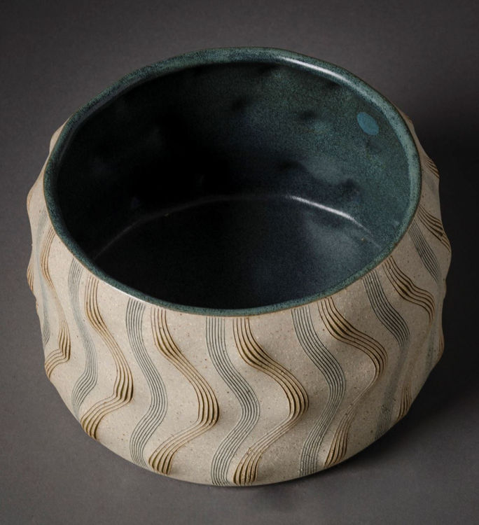 Picture of Sculpted and Incised Bowl