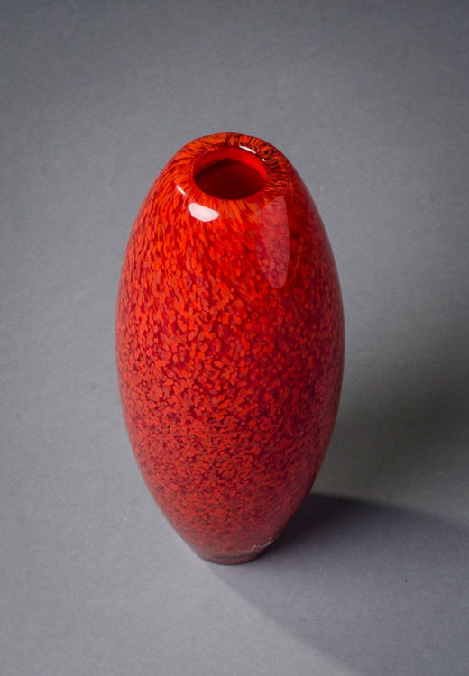 Picture of Red Glass Bud Vase