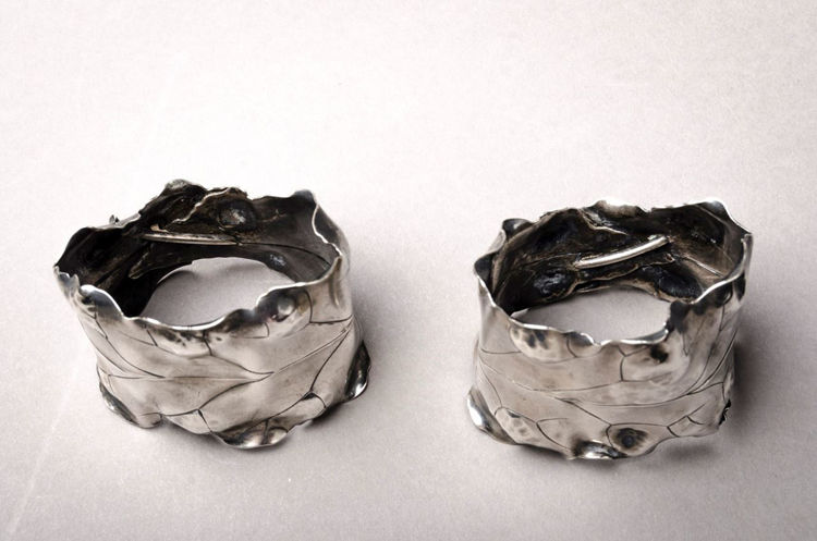 Picture of Japonesque Sterling Napkin Rings