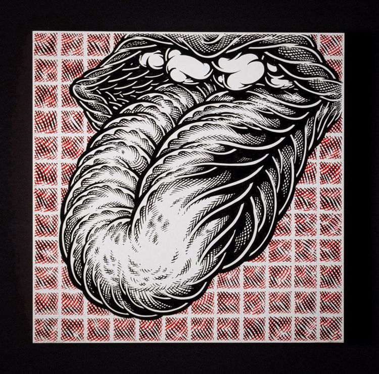Picture of Study for Stones Blotter