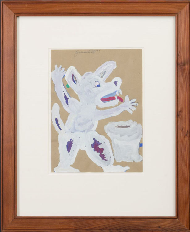 Picture of White Dog