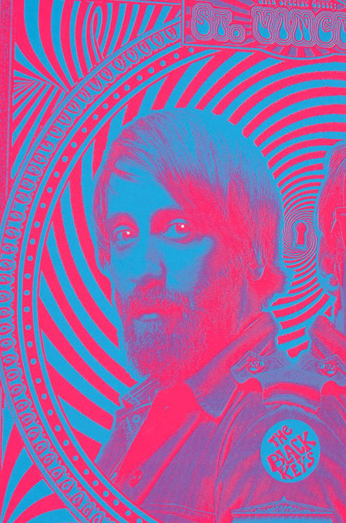 Picture of Blue Psychedelic Black Keys