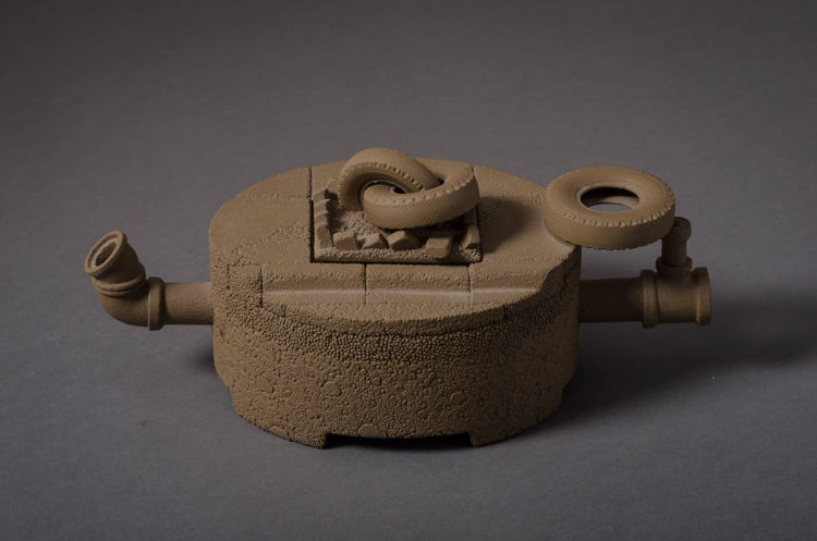 Picture of Teapot with TIres