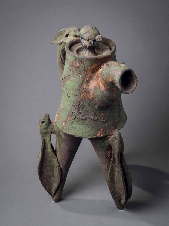 Picture of Hare and Turtle Teapot